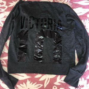 Black Victoria's Secret sport hoodie
